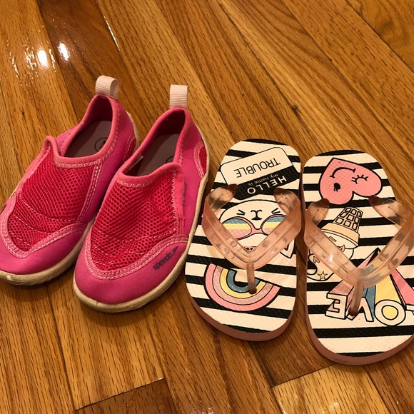 Speedo Other - Swim toddler girl shoes Size 7/8